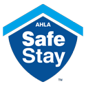 AHLA Stay Safe Badge