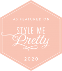 As featured on Style Me Pretty 2020