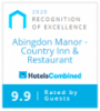 Hotels Combined 9.9 Recognition of excellence