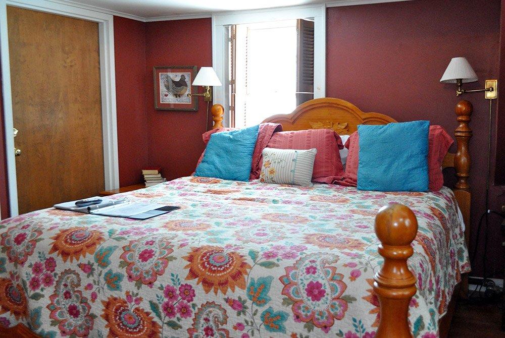 Bed in Gamaliel's Gable Room