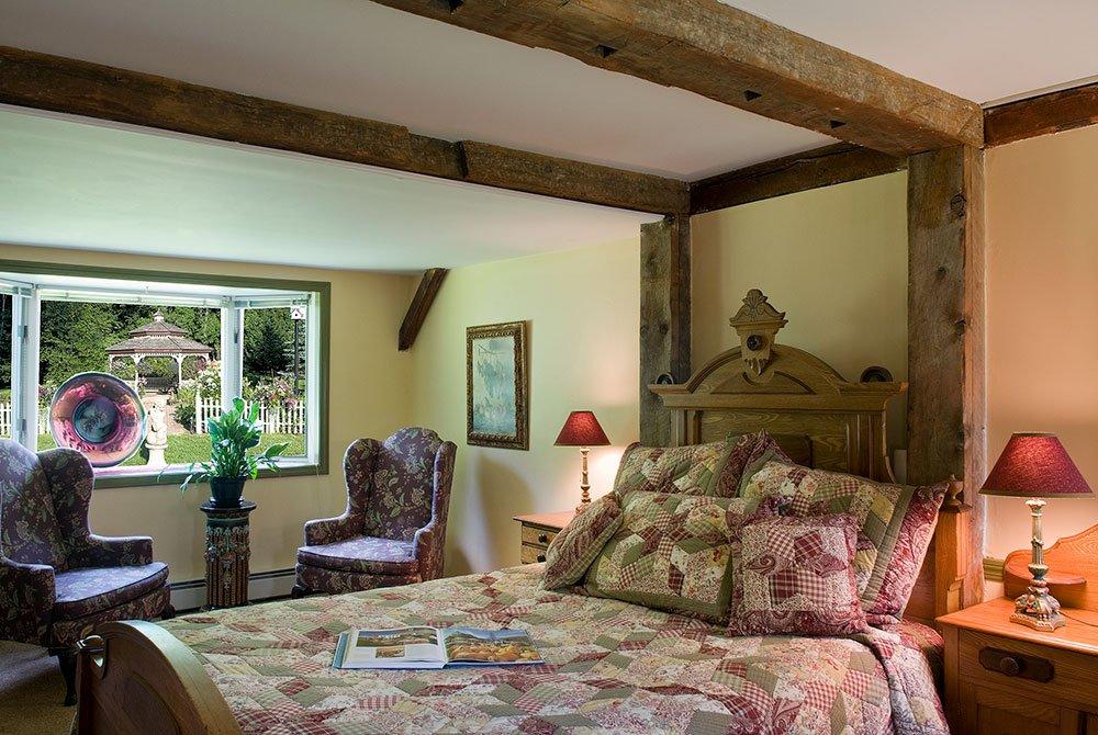 Bed in Rhoda's Room