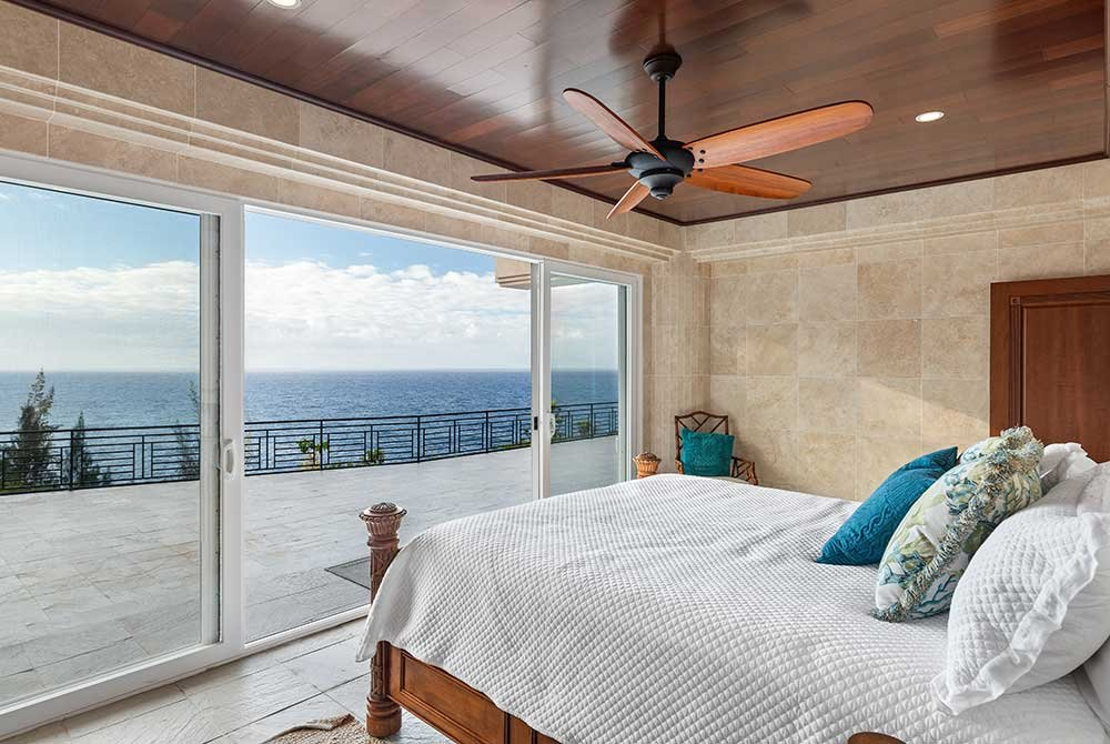 Room with views of the ocean