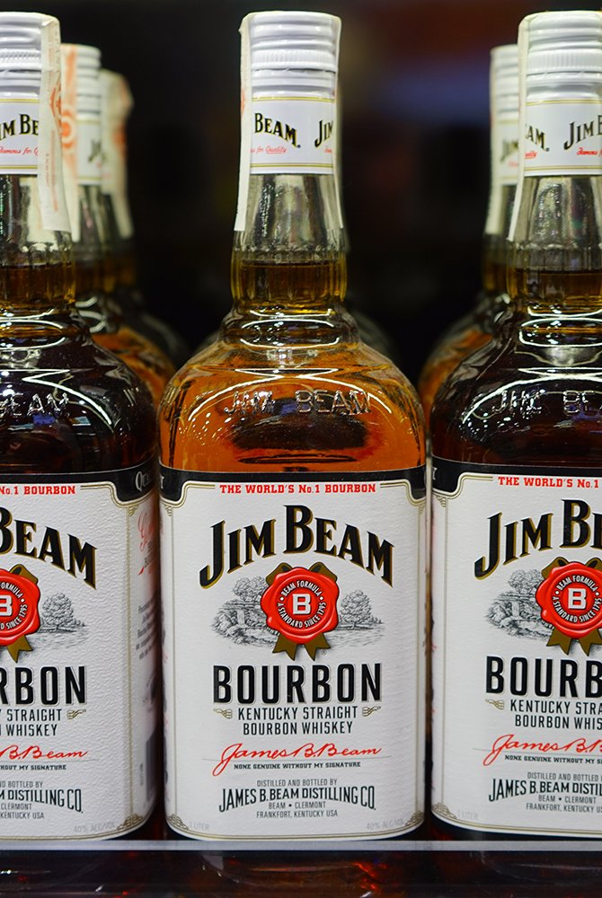 Jim Bean Bourbon Whiskey