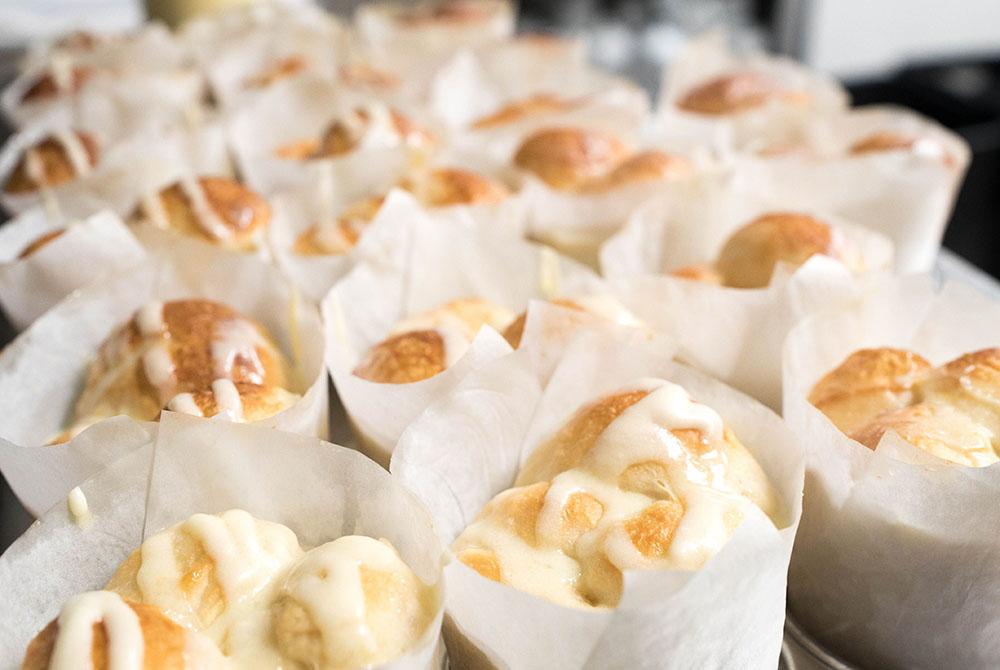 Inn on the Cliff breakfast muffins