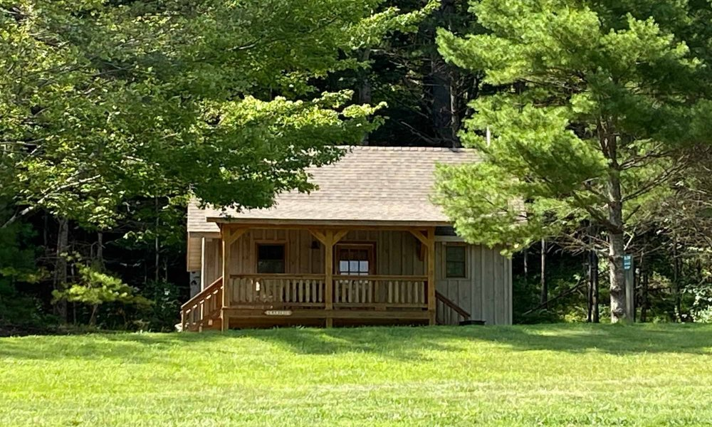 Exterior view of Cabtree cabin