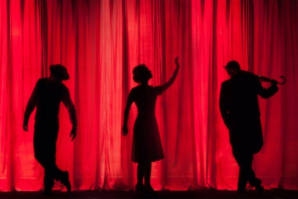 actors silhouettes