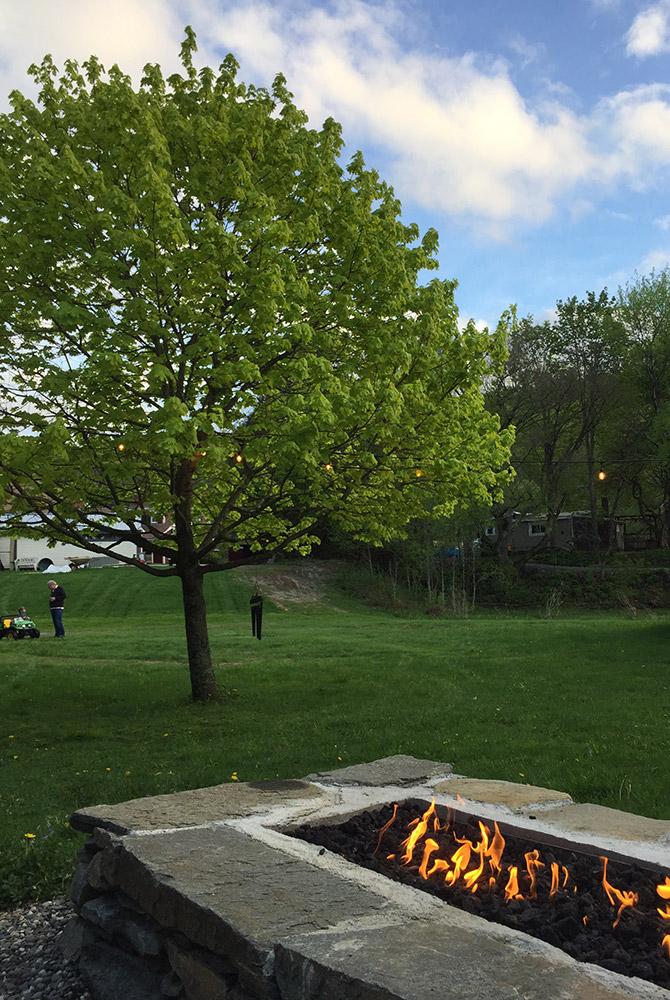 outdoor firepit