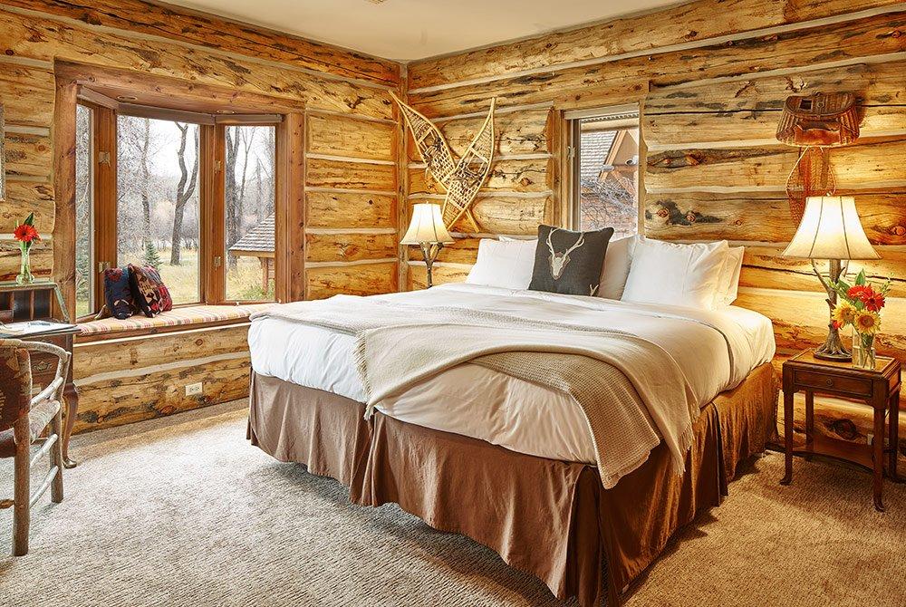 View of cabin bedroom