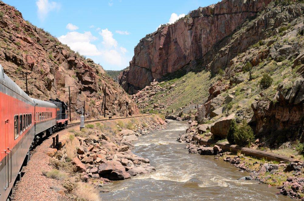 Riding the Royal Gorge Train