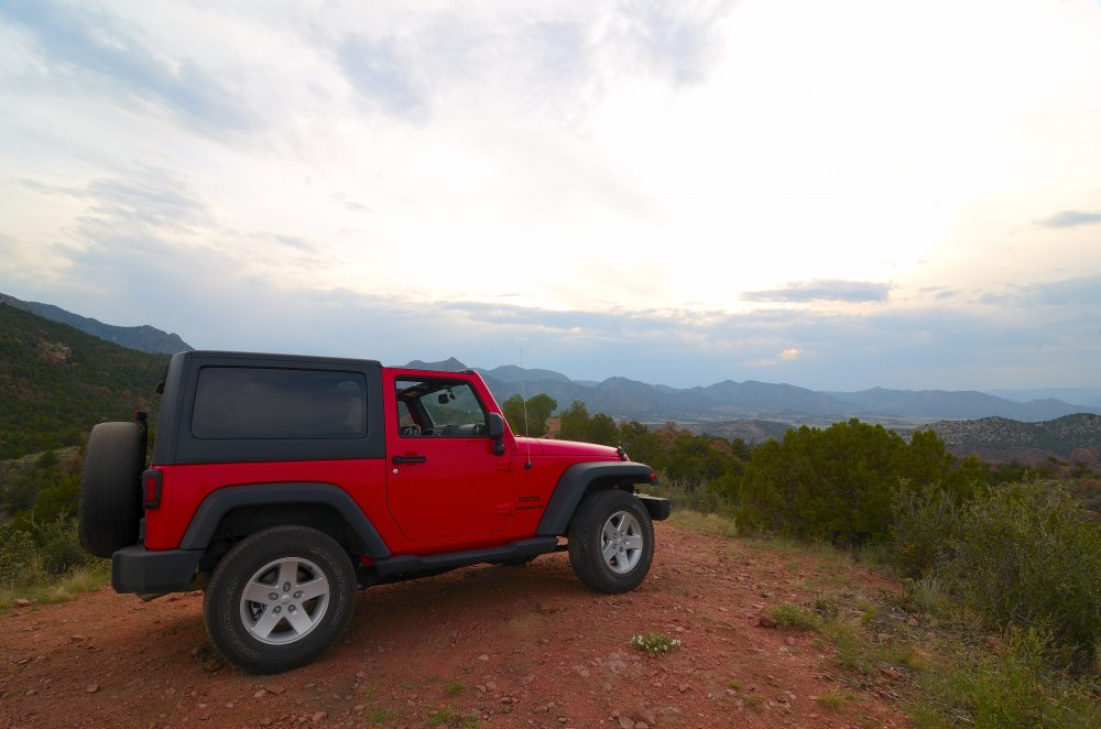 Overlooking Temple Canyon & the south side of the Royal Gorge