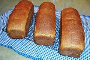 Homemade Brown Bread Made in Our Kitchen