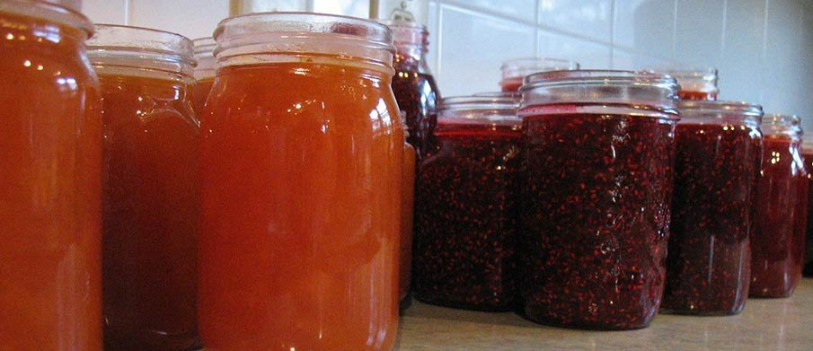 Homemade Jams and Jellies at Hillsdale House Inn