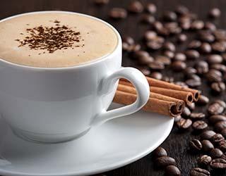 Coffee at Garden Gables Inn