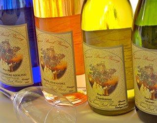 Furnace Brooke Winery Wine Bottles