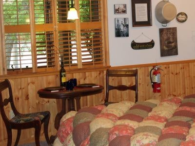 Chocolate Moose room at Eureka Sunset - Eureka Springs, AR