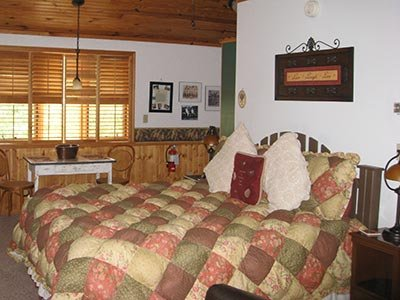 Knotty But Nice room at Eureka Sunset - Eureka Springs, AR