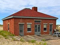 Whistle house of Race Point Lighthouse - Outer Cape Cod