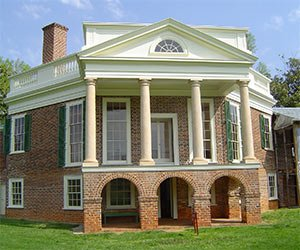 Poplar Forest Jefferson Home near House of Lydia Photo by Doug Coldwell