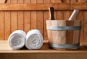 towels at The Inn at Rosehill in Monroe, North Carolina