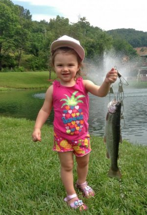 Catch 'n Keep Fishing Pond with Smoke Hole Outfitters on the South Branch Potomac River