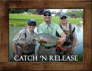 Smoke Hole Outfitters Catch And Release Fishing