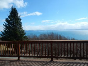 View from large deck