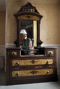 Full view of dresser