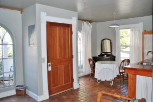dining area near front door