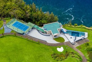 View of Waterfalling Estate from above