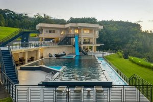 Pool and estate