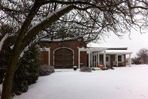 Winter Exterior photo of the inn