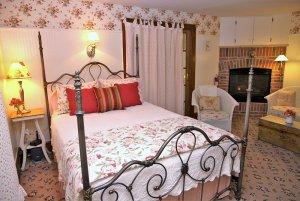 Bed in Mary Magdelene Anhalt Room