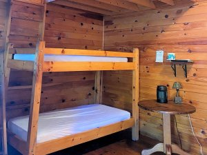 Bunkbed and night stand