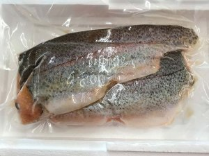 packaged trout