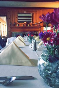 set table for reception