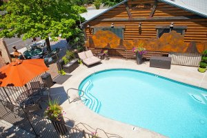 Canyons Lodge outdoor pool