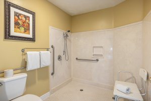 Canyons Boutique deluxe king ADA bathroom