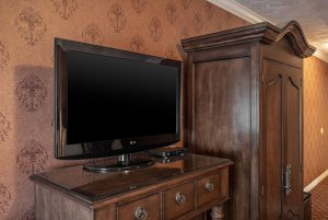 canyons boutique double queen room tv