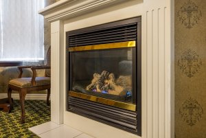 Canyons Boutique deluxe king spa fireplace