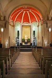 Chapel of the Archangels chapel interior