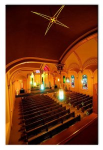 Chapel of the Archangels interior of chapel