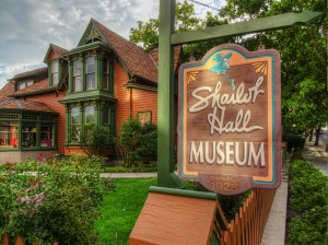 Shallot Hall Museum Welcome Sign