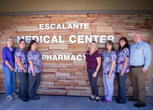 The employees of Escalante Medical Center pharmacy