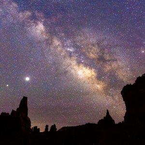 Night sky at Bryce Canyon