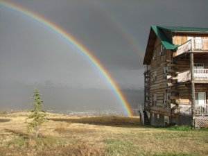 Syringa Lodge Rainbow