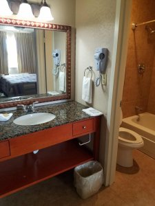 sink of deluxe king room