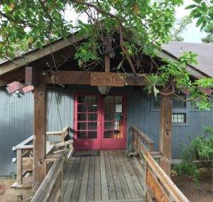 Osprey Peak Deck Entrance