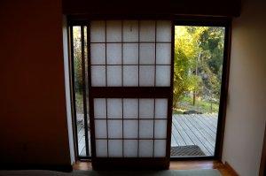 Sliding Door to Outside Deck