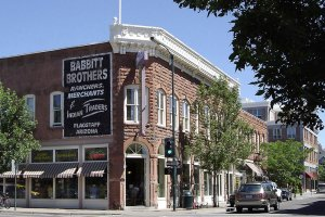 Babbit Brothers corner store | The Inn at 410, Downtown Flagstaff, AZ