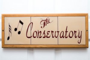 the conservatory room sign | The Inn at 410, near Sedona, AZ